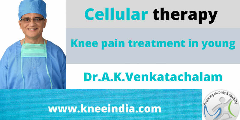 Knee pain treatment in young