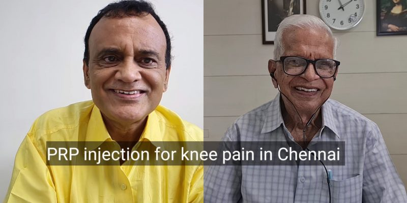 PRP injection knee arthritis Chennai